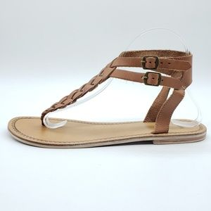 Urban Outfitters Ecote double ankle strap Sandals